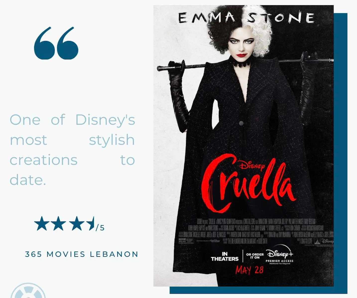 Cruella by Craig Gillespie Film Review